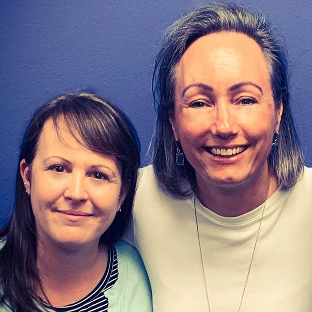 Deborah Kekone and Karen McMillen